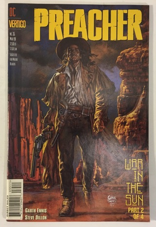 Preacher #35 VF+ 8.5 WP - DC Vertigo Comics March 1998 - Garth Ennis AMC TV Show