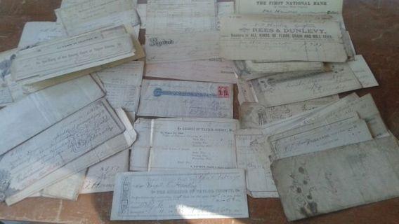 51pcs of Antique Paper Ephemera