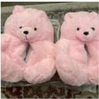 Teddy bear slippers GIN -= FREE SHIPPING ONLY