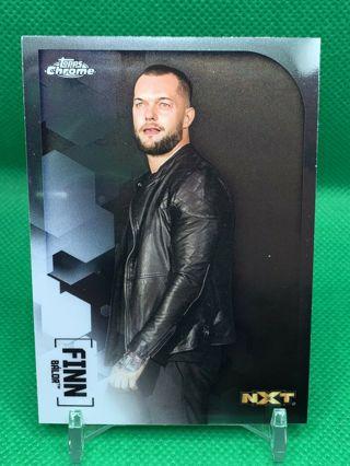 2020 Topps Chrome WWE FINN BALOR NXT Card #27