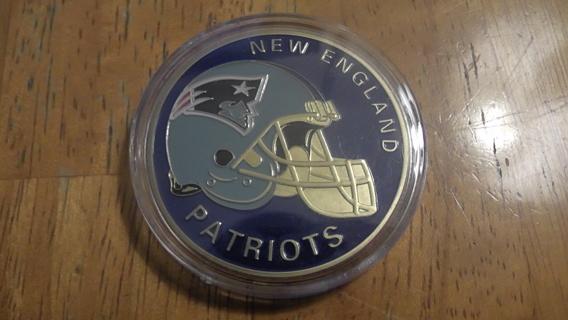 New England Patriots NFL Collectors Coin