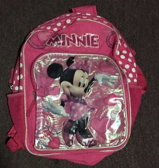 Minnie Mouse backpack for school