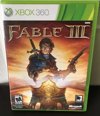 """XBOX 360 Game - """"Fable III"""" - rated M"""