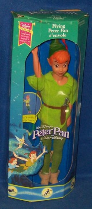 Peter Pan Toys : Free walt disney s flying peter pan action doll other