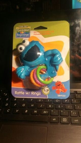 Baby Rattle With Rings
