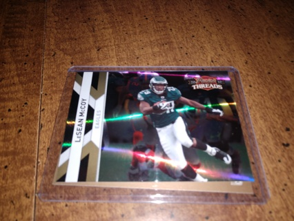 2 card Lot football LeSean McCoy Veteran running back one rookie included