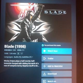 Blade digital HD