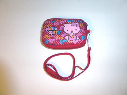Cute Red Hello Kitty Camera Case