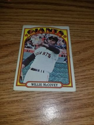 1972 Topps Baseball Willie McCovey #280 San Francisco Giants,VGEX condition,Free Shipping!