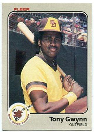 1983 Fleer Tony Gwynn Rookie Card RC