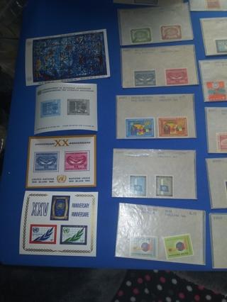 Un3) Sheets / 18 Complet Stamp Sets
