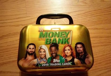 WWE 2019 Money in the Bank Tin