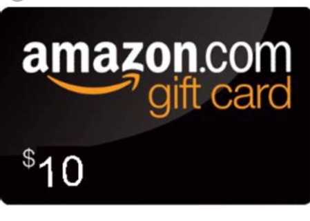 Amazon gift card $10 digital delivery
