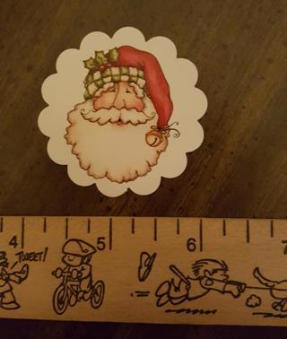 Santa Face Christmas Magnet 4