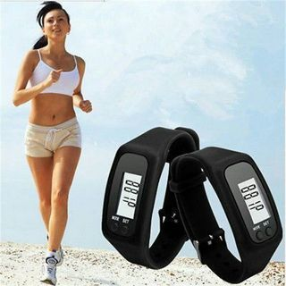 [GIN FOR FREE SHIPPING] Digital LCD Pedometer Calorie Counter Run Step Walking Distance Watch