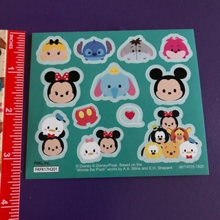 Disney Tsum Tsum Sticker Sheet #6 BRAND NEW