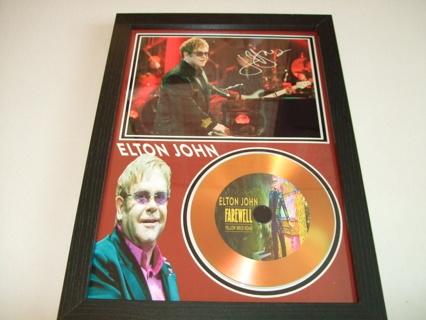 elton john signed