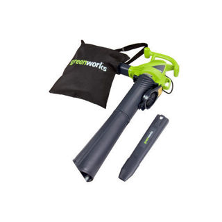 NEW! Greenworks 12 Amp Variable Speed Electric Mulcher Blower Vac. FREE SHIP!