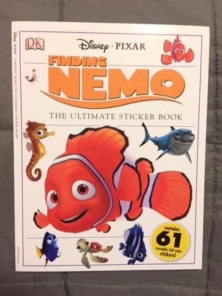 Disney ~ Pixar Finding Nemo sticker book