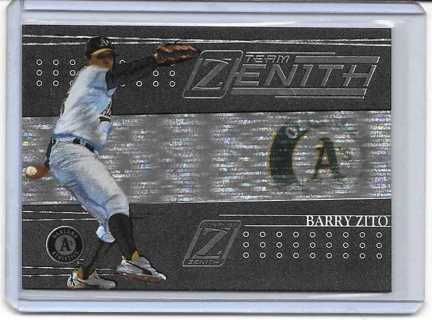 Barry Zito 2005 Zenith Team Zenith #TZ9