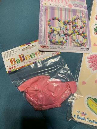 BABY Shower items for girl~NEW