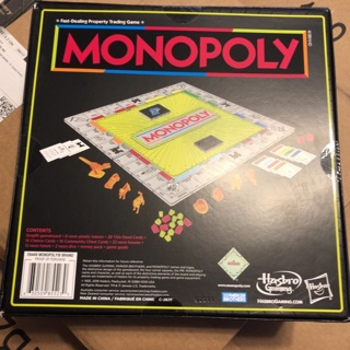 New Monopoly Neon POP Game Board