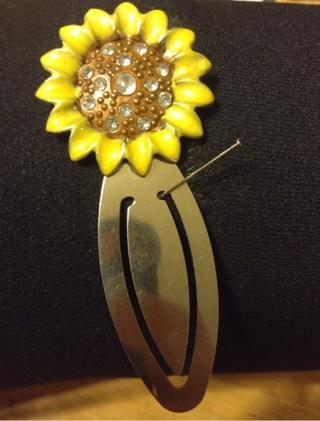 Sunflower Bookmarker!!