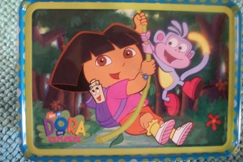 Dora The Explorer * Small Tin Box *