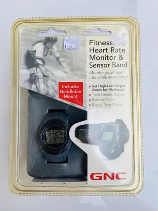 NIB GNC Heart Rate Monitor & Sensor Band