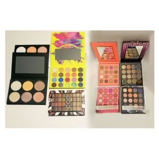 ♥️Brand new Lot of (5) Eyeshadow & Highlighter Palettes Makeup beauty lot (BH Cosmetics etc)