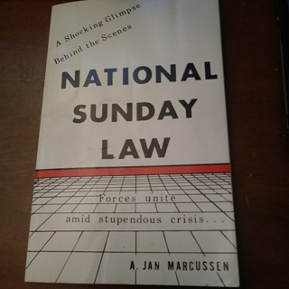 National Sunday Law by A Jan Marcussen paperback