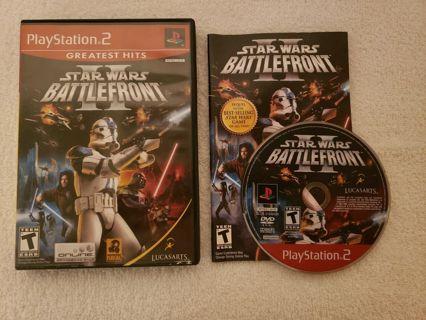 Star Wars: Battlefront II Greatest Hits (Sony PlayStation 2)