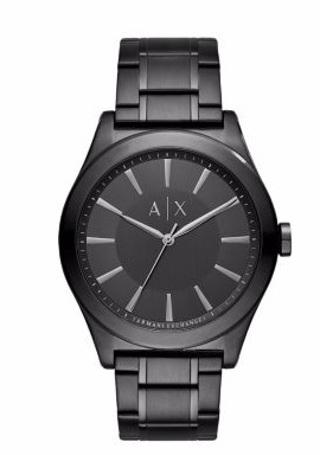 Brand New Gift Quality Armani Exchange Men's AX2322 Black Quartz Watch Hard to Find Retails New $150