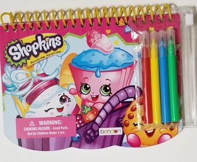 Shopkins Coloring and Activity Booklet
