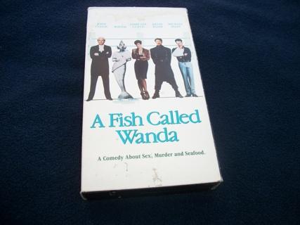 A Fish Called Wanda VHS