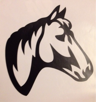 Vinyl Horse Decal
