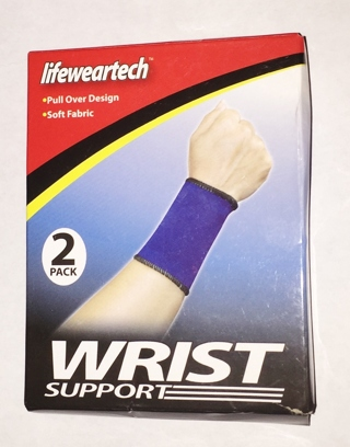 2 Pack Lifeweartech Wrist Support - New
