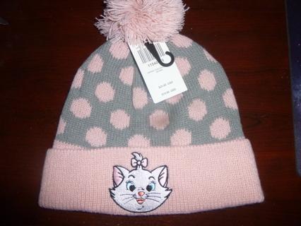 NWT Disney Marie Beanie Knit Boggan Hat