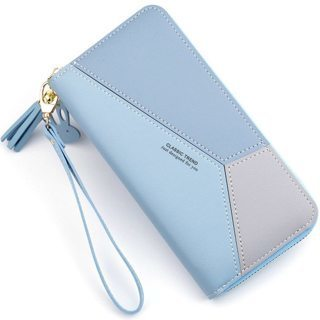 Wallets Phone Clutch Purse Patchwork Women Long Wallet Fashion For stylish ladies