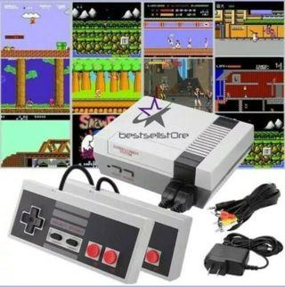 Mini Retro Game For Nintendo NES Console Built-In 620 Classic Games+2 Controller