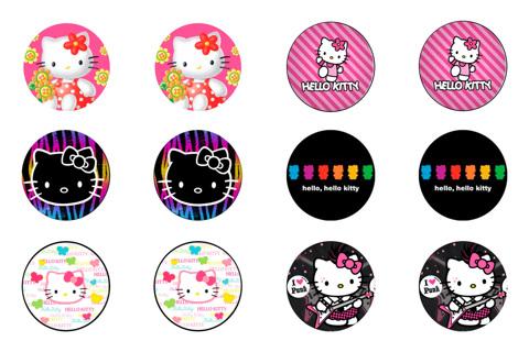 Free 2 1 Hello Kitty Bottlecap Sheets
