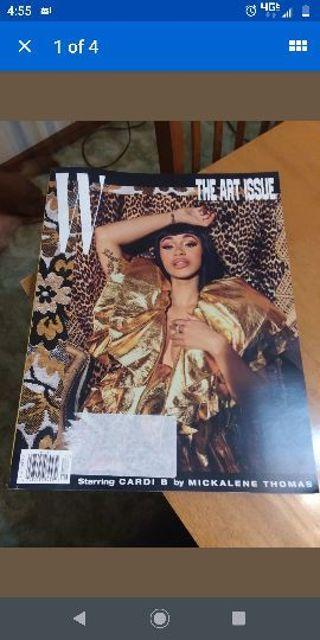 W Magazine Volume 7 December 2018 Cardi B The Art Issue