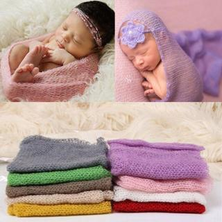 Baby Photography Props Blanket Wraps Stretch Knit Wrap Newborn Photo Wraps
