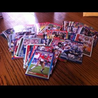 81 Football Cards