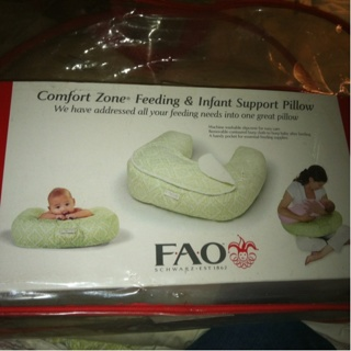 Free: FAO Schwarz Feeding & Infant Support Pillow - Breast