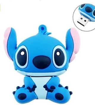 Novelty Stitch Blue Shape Design 16GB USB