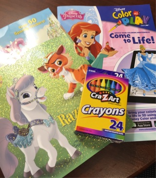 Brand New Crayons Disney Princess Color Play Activity Come To Life 3D Palace Pets