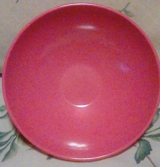 SUN-VALLEY MEL MAC pink Bowl