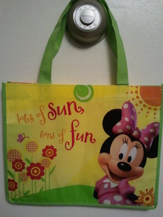 .•:*¨¨*:•.Minnie Mouse reusable tote.•:*¨¨*:•.