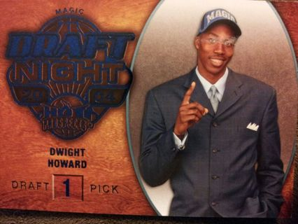 "2008-09 BLUE HOT PROSPECTS ""DRAFT NIGHT"" DWIGHT HOWARD - NBA - MAGIC"